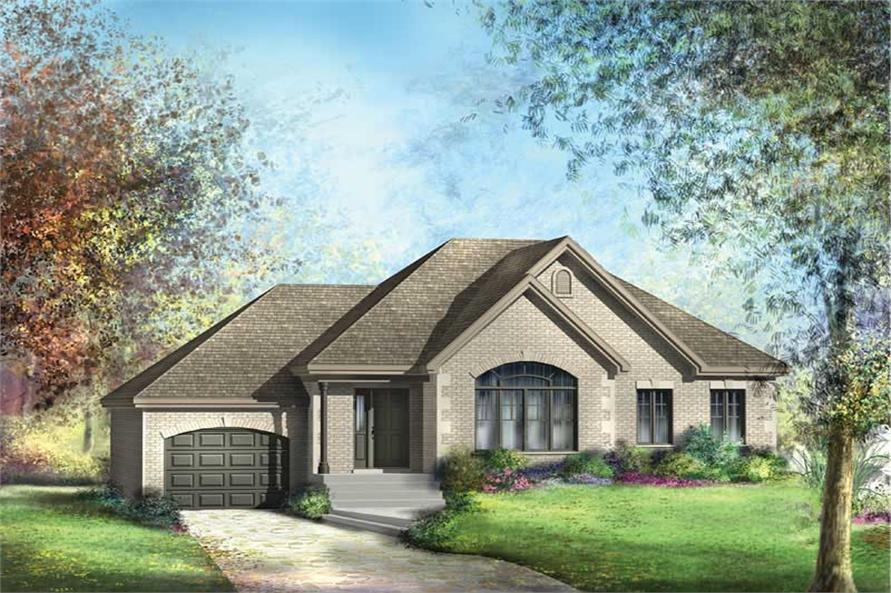 Main image for house plan # 12717