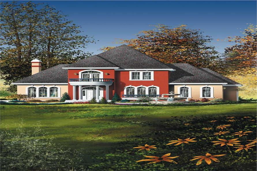 Main image for house plan # 12460
