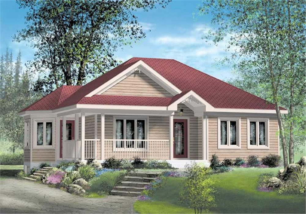 Main image for house plan # 12739