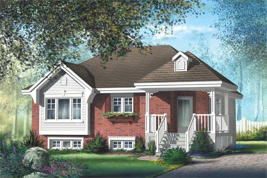 Main image for house plan # 12658