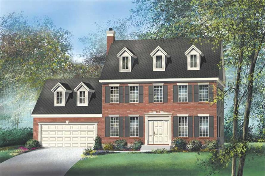 Main image for house plan # 12212