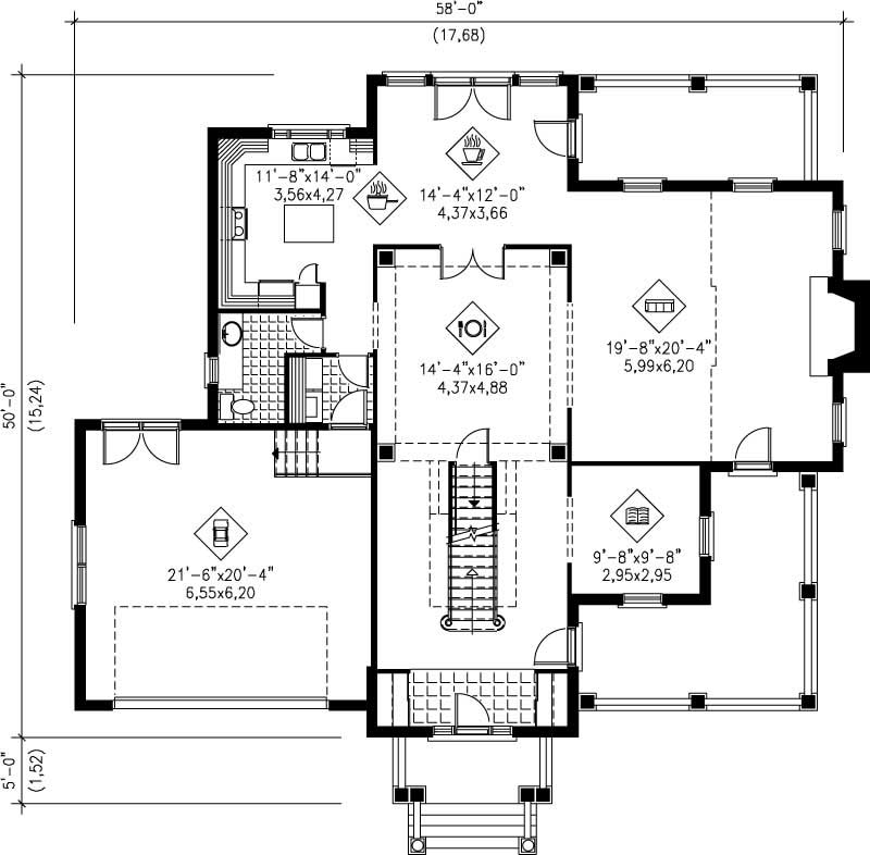 Multi Level House Plans Home Design Pi 20250 12206