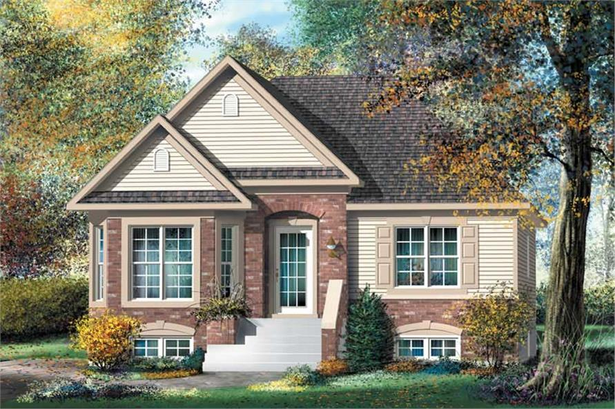 Main image for house plan # 12761