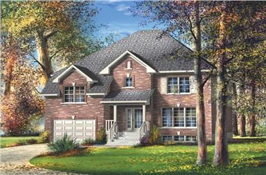 3-Bedroom, 2240 Sq Ft Craftsman House Plan - 157-1363 - Front Exterior