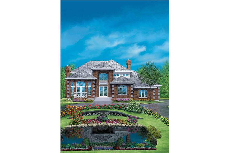 Main image for house plan # 12151