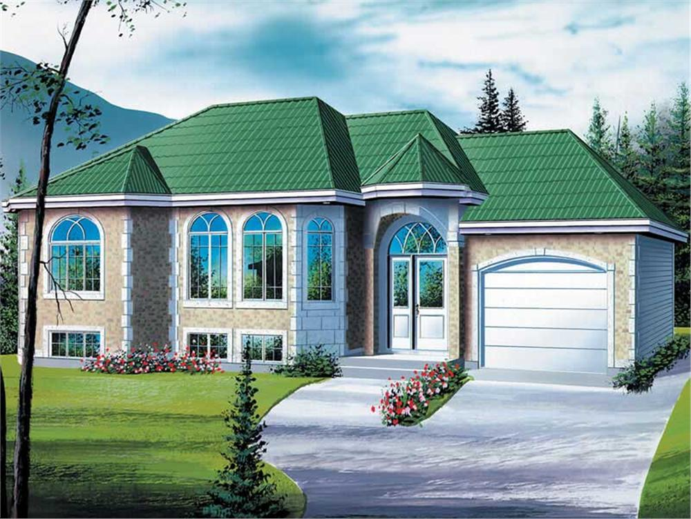 Main image for house plan # 12629