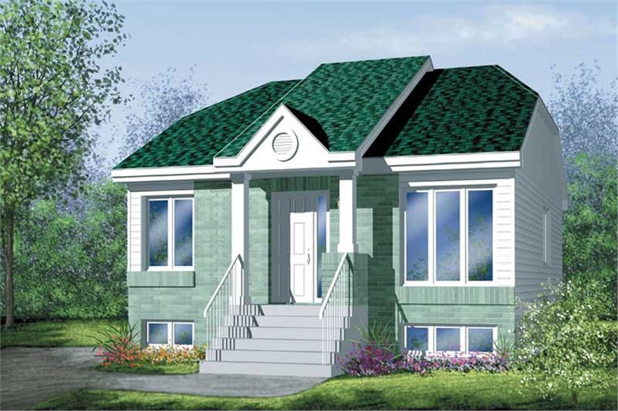 Main image for house plan # 12619