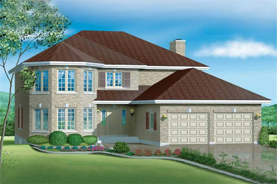 Main image for house plan # 12155