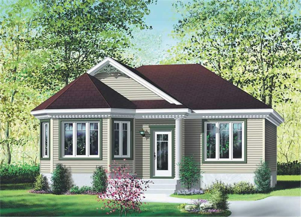 Main image for house plan # 12754
