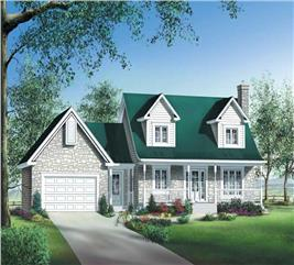 House Plan #157-1383