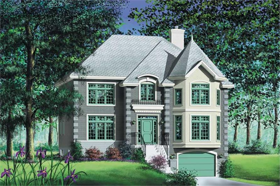 Main image for house plan # 12198