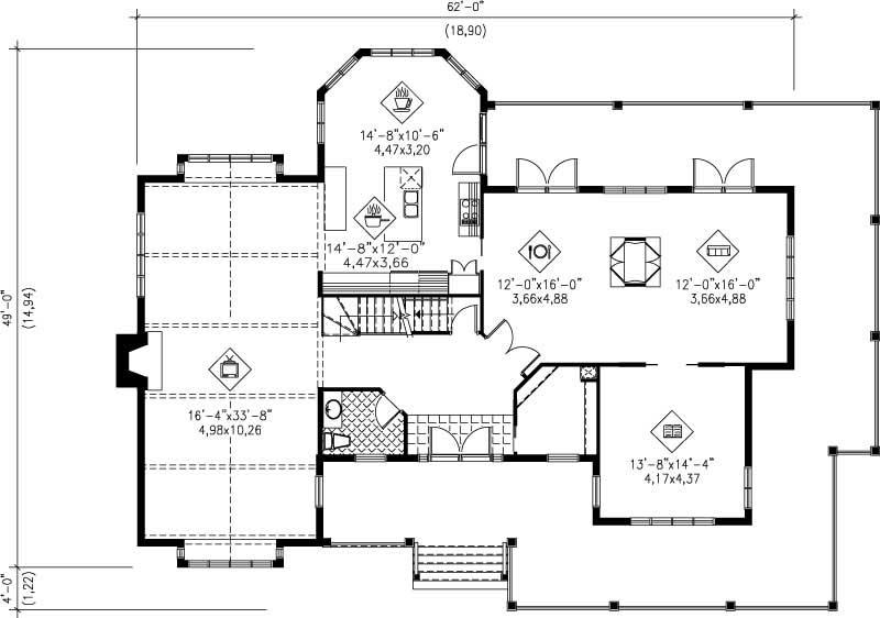 Multi Level House Plans Home Design Pi 20009 12194