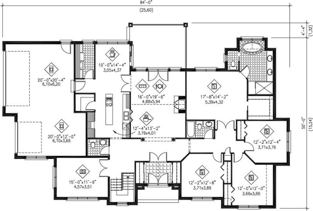 Large Images For House Plan 157 1388