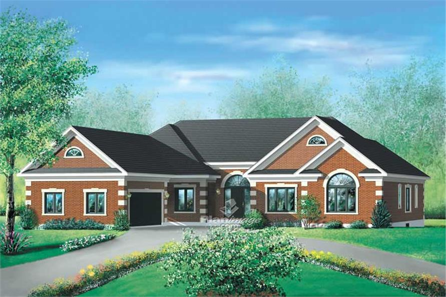 Main image for house plan # 12167