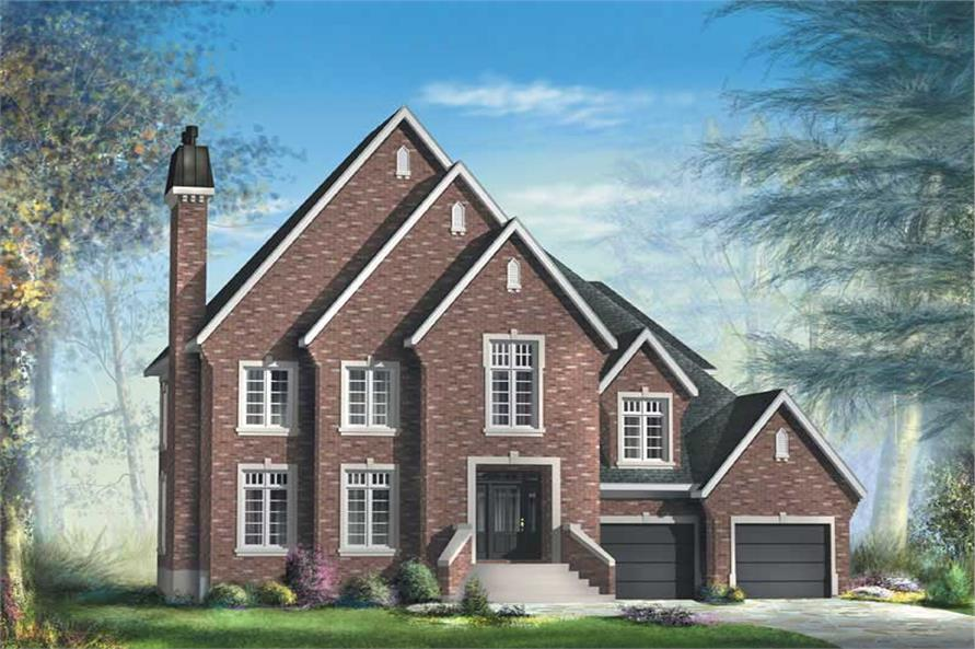 Main image for house plan # 12238