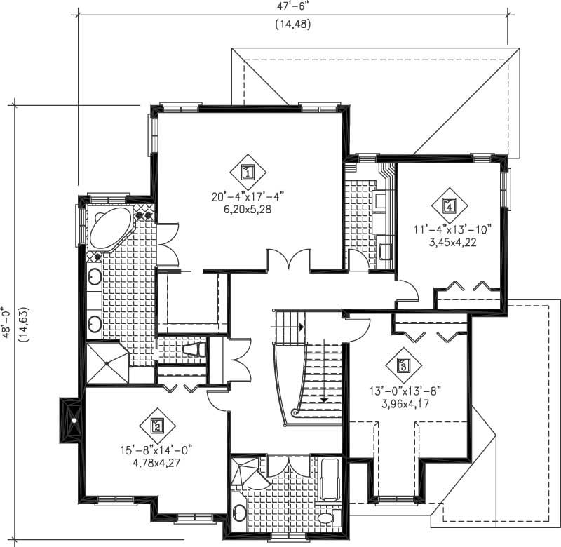 Multi Level House Plans Home Design Pi 20723 12238