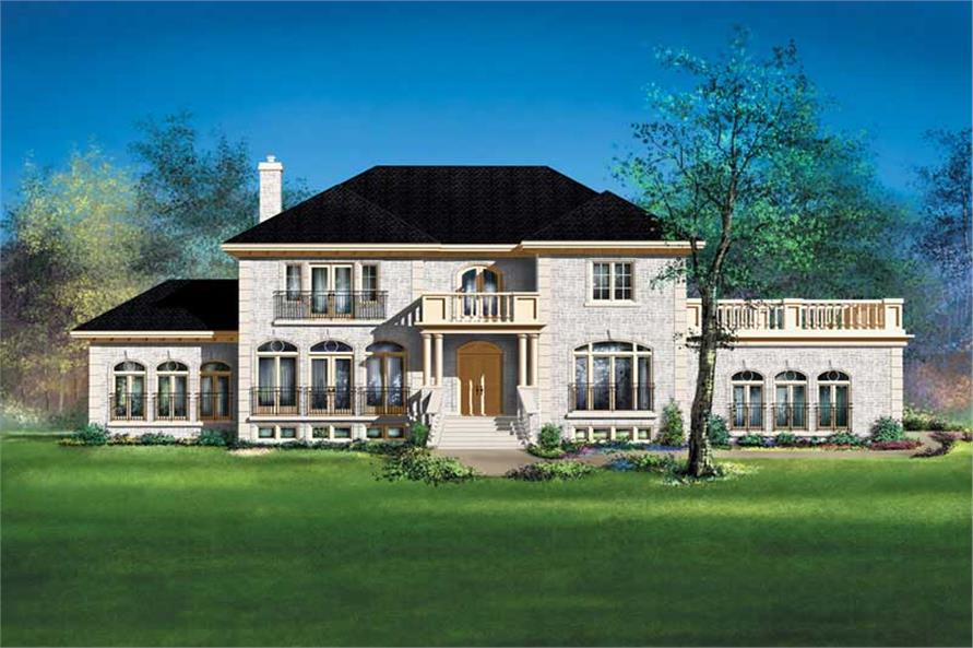 Main image for house plan # 12229