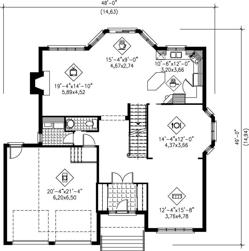 Multi Level House Plans Home Design Pi 20451 12221
