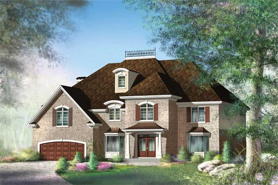 Main image for house plan #157-1408