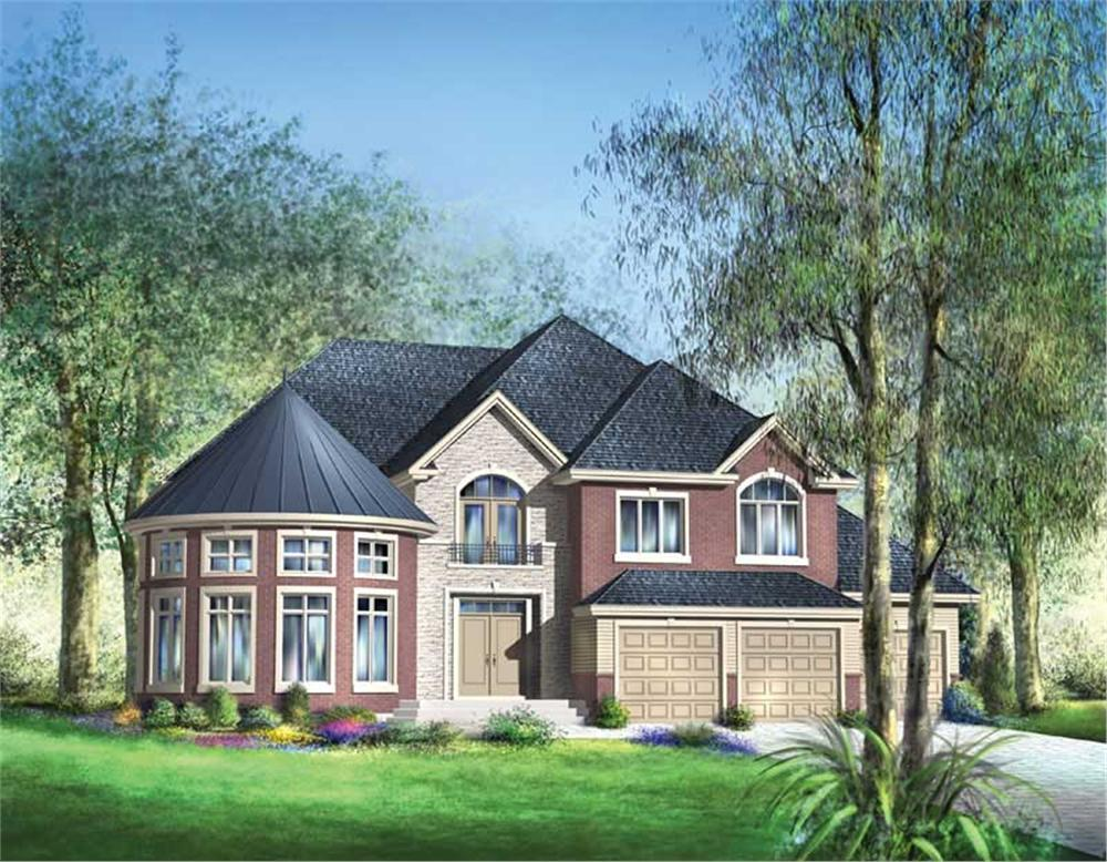 Main image for house plan # 12215
