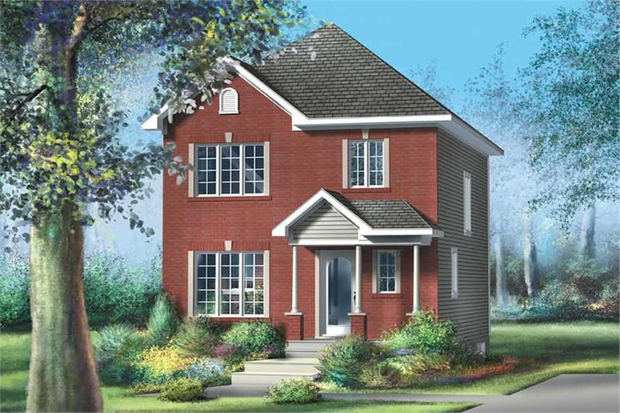 Main image for house plan # 12977