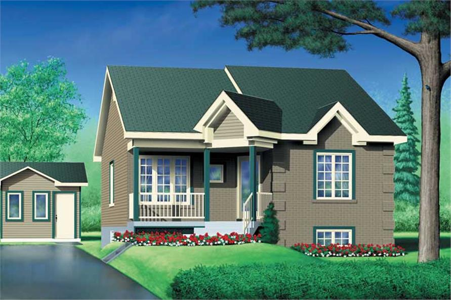 Main image for house plan # 12581