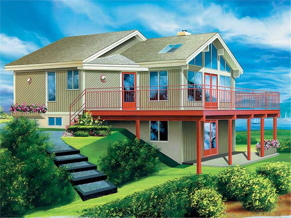 Main image for house plan # 12445