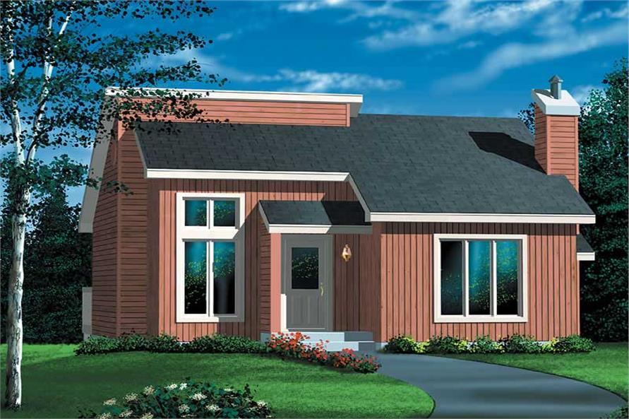 Main image for house plan # 12436