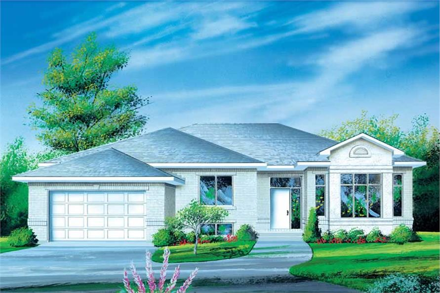 Main image for house plan # 12425