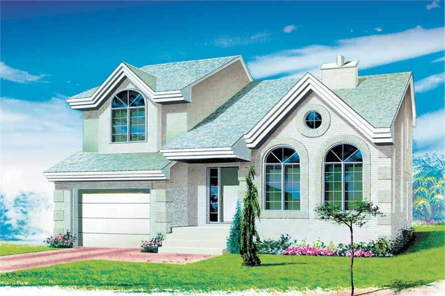 2-Bedroom, 1742 Sq Ft Craftsman Home Plan - 157-1430 - Main Exterior