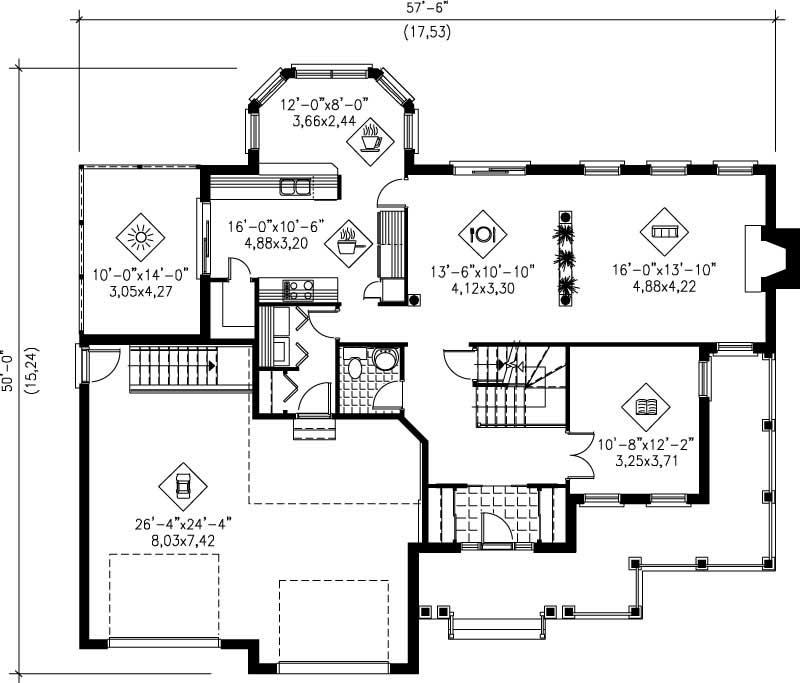 Multi Level House Plans Home Design Pi 20581 12233