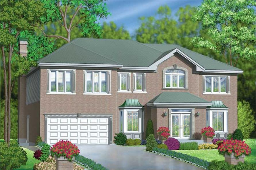 Main image for house plan # 12154