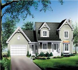 House Plan #157-1441