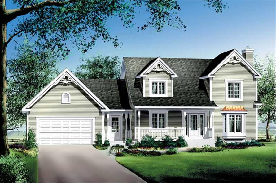 Main image for house plan # 12235