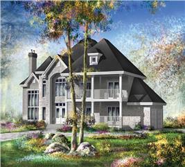 House Plan #157-1443
