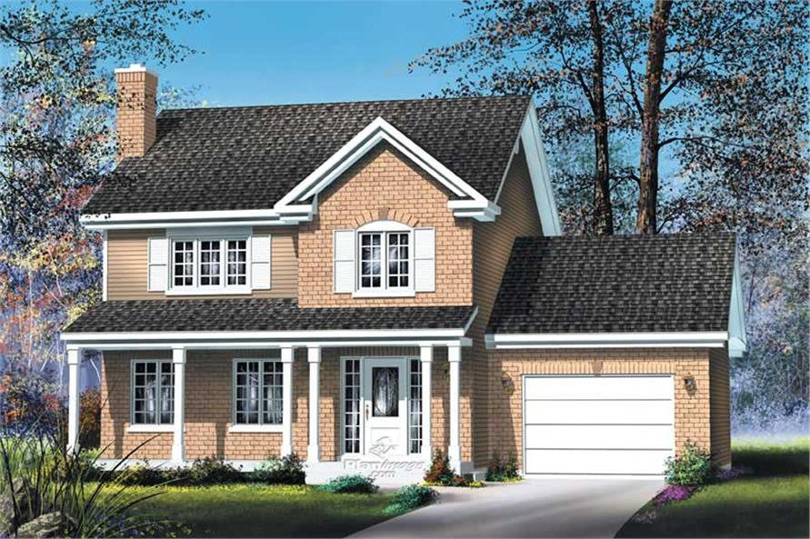 Main image for house plan # 12227