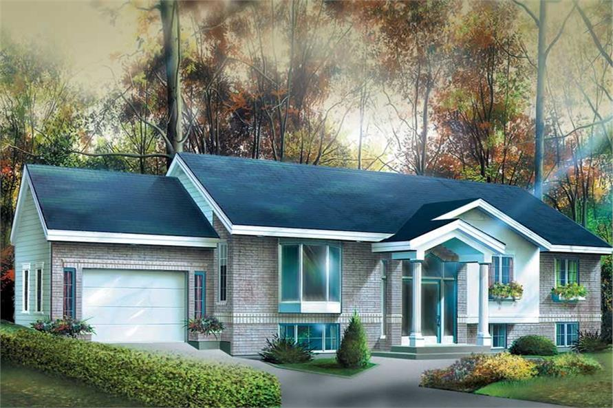 Main image for house plan # 12459