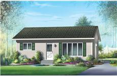Main image for house plan # 12659