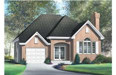 Main image for house plan # 12163
