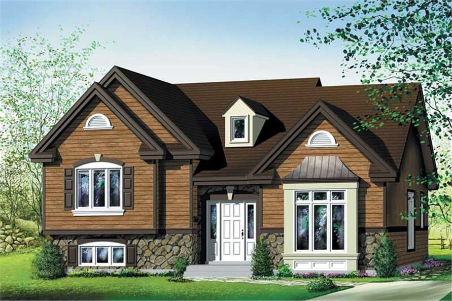 Main image for house plan # 12723