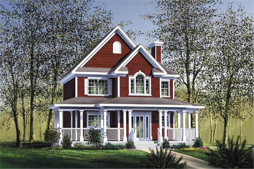 Main image for house plan # 12791