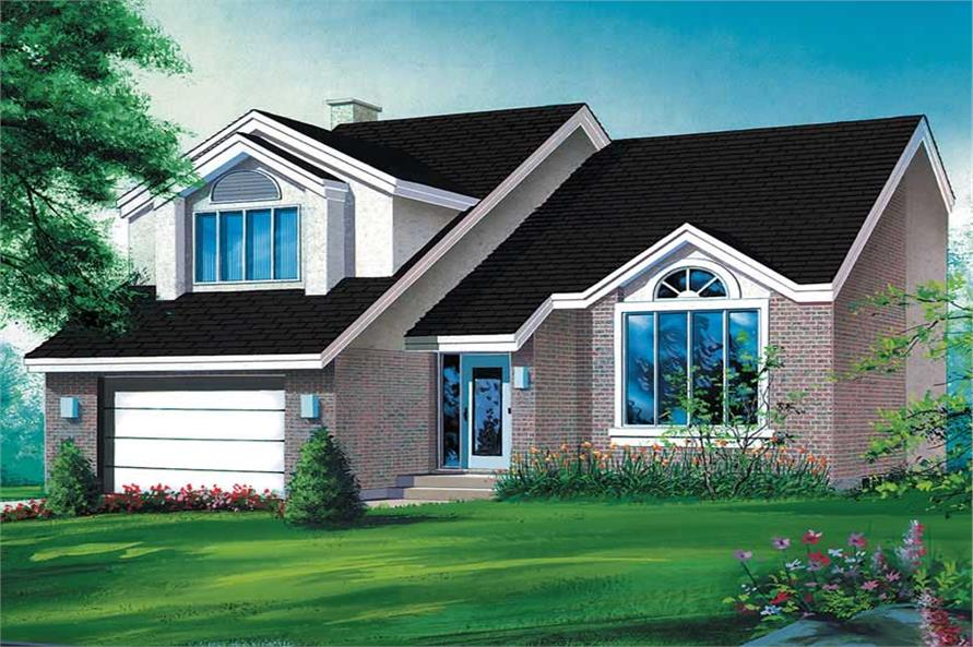 3-Bedroom, 2298 Sq Ft Craftsman Home Plan - 157-1468 - Main Exterior