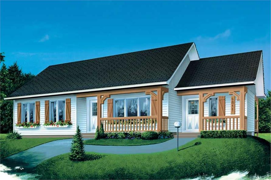 Main image for house plan # 12492