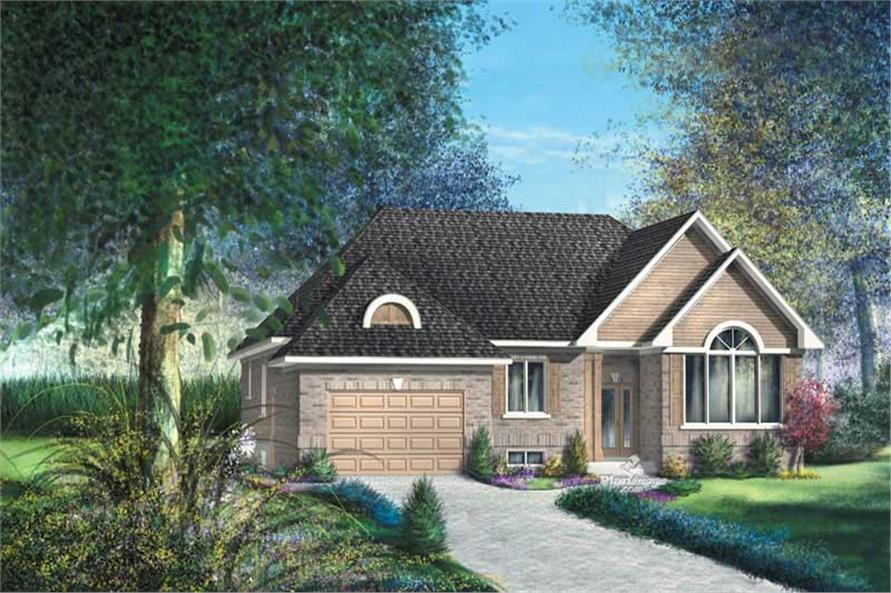 Main image for house plan # 12731