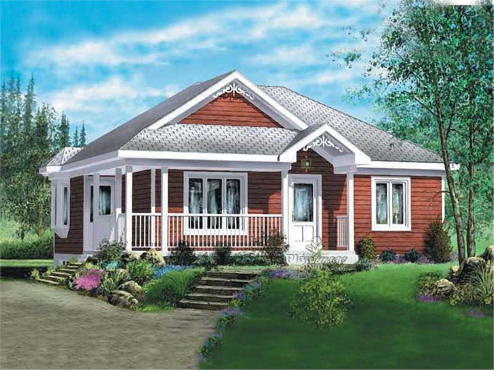 Main image for house plan # 12738