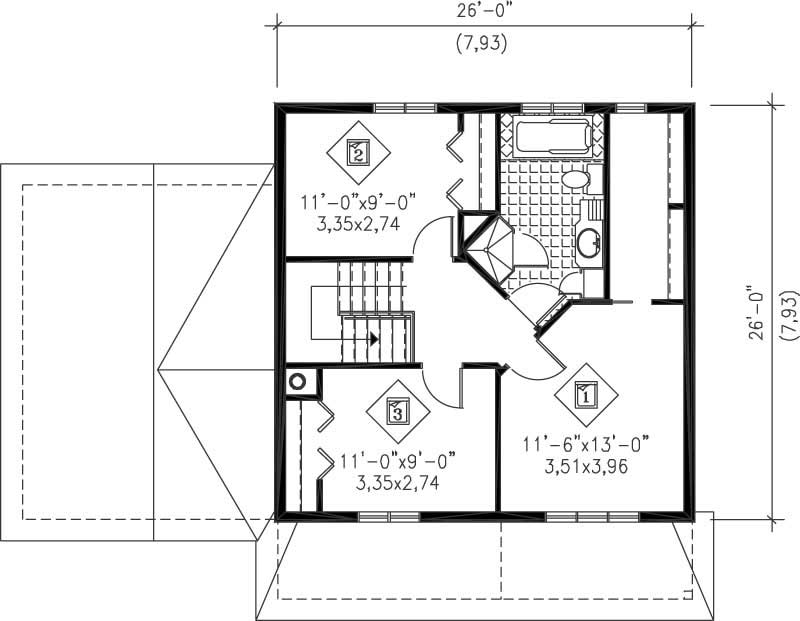 Multi Level Ranch House Plans Home Design Pi 20464 12922
