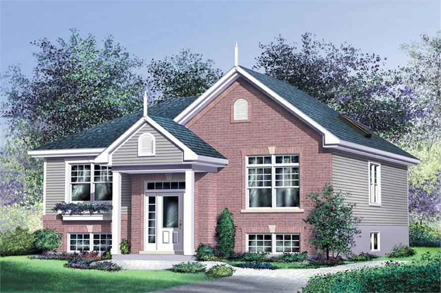 Main image for house plan # 12773