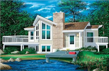 Main image for house plan # 12488