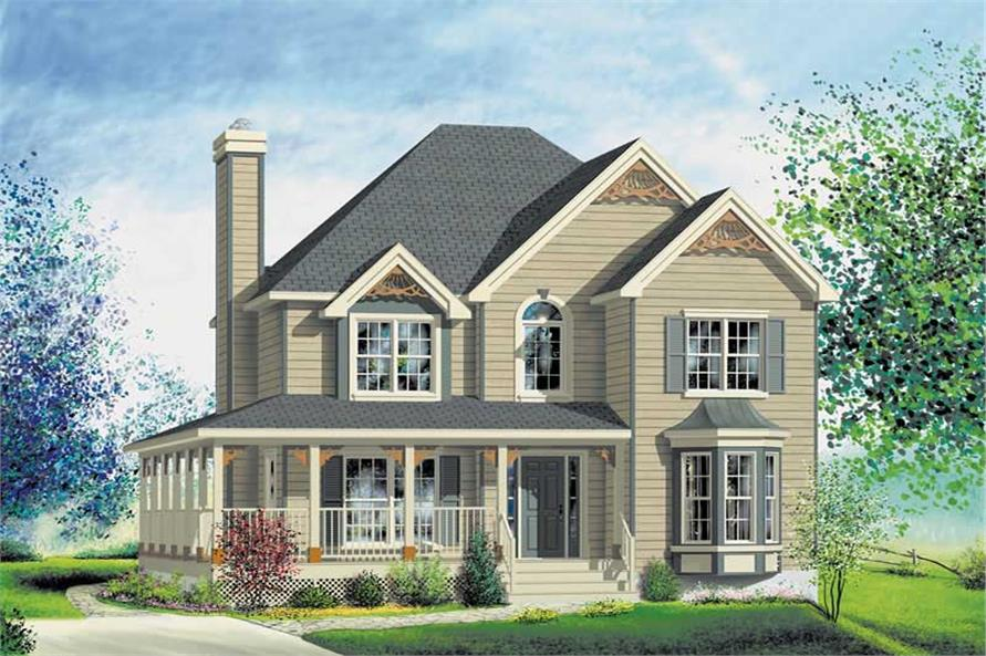 Main image for house plan # 12803