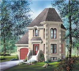 House Plan #157-1485